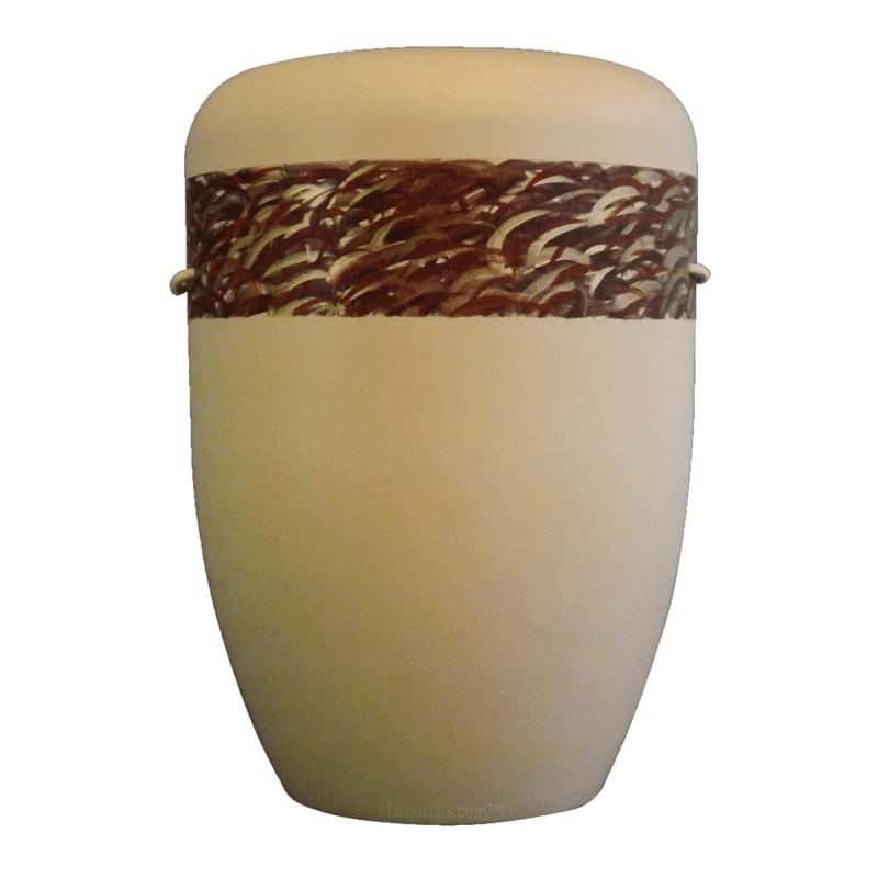 Gold Grass Biodegradable Urn