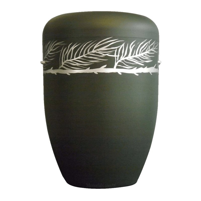 Silver Fern Biodegradable Urn