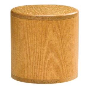 Barillet Oak Pet Urn