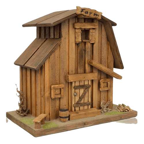Unique Barn Urn