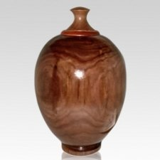 Baron Wood Cremation Urn