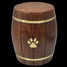 Barrel Of Love Pet Cremation Urn
