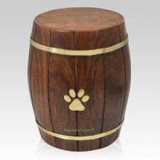 Barrel Of Love Pet Cremation Urn