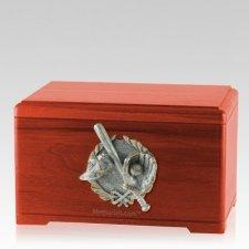 Baseball Tribute Cherry Cremation Urn