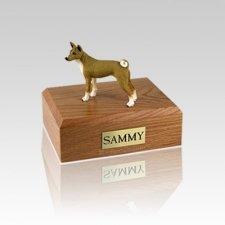 Basenji Small Dog Urn