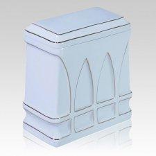 Basilica Porcelain Cremation Urn