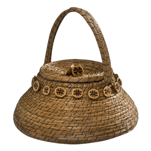 Basket Nature Cremation Urn