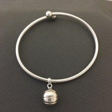 Basketball Ash Cremation Bracelet