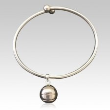 Basketball Ash Cremation Bracelet