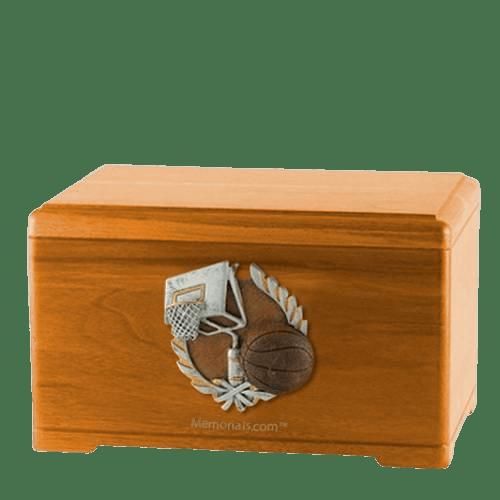 Basketball Fan Cremation Urns