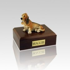 Basset Hound Small Dog Urn