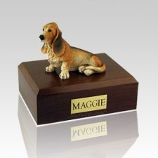 Basset Hound X Large Dog Urn