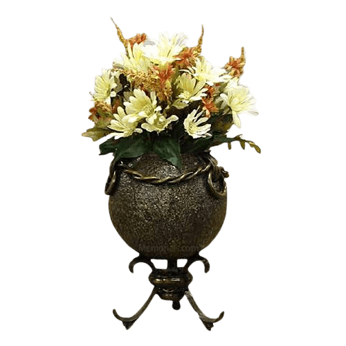 Bastion Bronze Cremation Urn