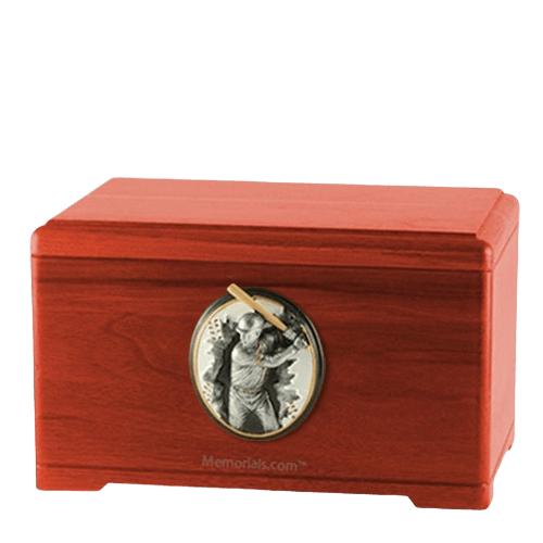 Batter Cherry Cremation Urn