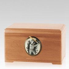Batter Light Cherry Cremation Urn