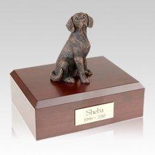 Beagle Bronze Large Dog Urn