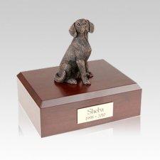 Beagle Bronze Medium Dog Urn