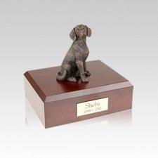 Beagle Bronze Small Dog Urn