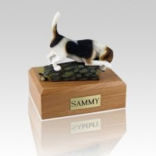 Beagle Hunting Large Dog Urn