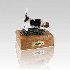 Beagle Hunting Small Dog Urn