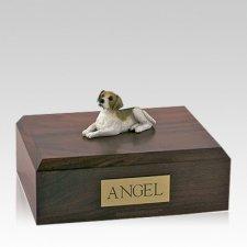 Beagle Laying Large Dog Urn