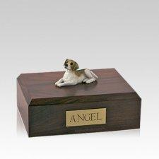 Beagle Laying Medium Dog Urn