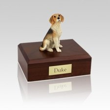 Beagle Medium Dog Urn
