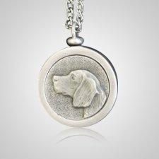 Beagle Pet Memory Keychain