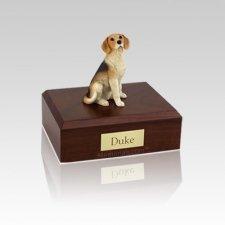 Beagle Small Dog Urn