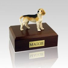 Beagle Standing Large Dog Urn