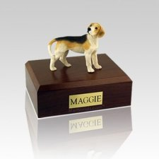 Beagle Standing Medium Dog Urn