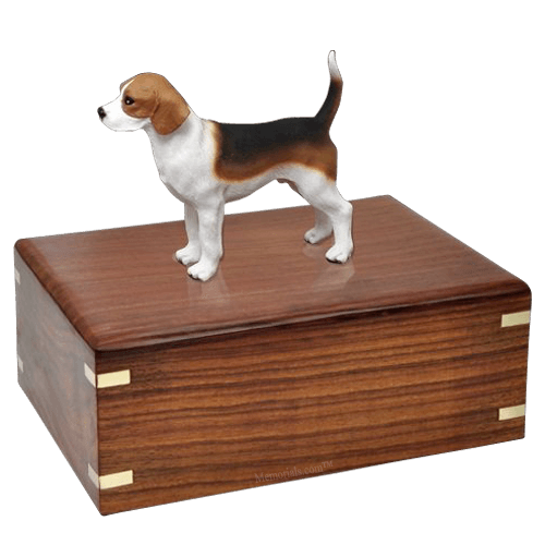 Beagle Standing Doggy Urns
