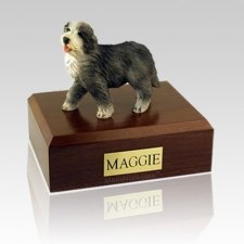 Bearded Collie X Large Dog Urn