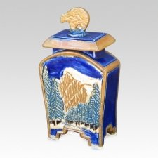 Bearfalls Pet Cremation Urn