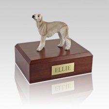 Bedlington Terrier Tan Large Dog Urn