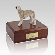 Bedlington Terrier Tan X Large Dog Urn