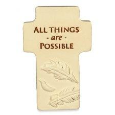Believe Comfort Cross Keepsakes