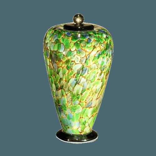 Belleza Glass Cremation Urn