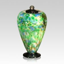 Belleza Glass Small Cremation Urn