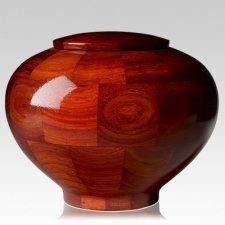 Benton Large Wood Urn