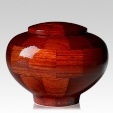 Benton Medium Wood Urn
