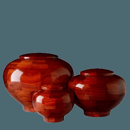 Benton Wood Cremation Urns