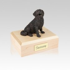 Bernese Mountain Bronze Small Dog Urn