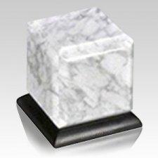 Bianco Stone Pet Urn