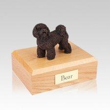 Bichon Frise Bronze Medium Dog Urn