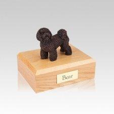 Bichon Frise Bronze Small Dog Urn
