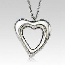 Big Heart Keepsake Pendant