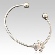 Big Paw Cremation Bangle
