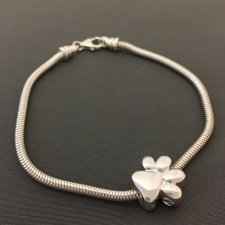 Big Paw Cremation Bracelet