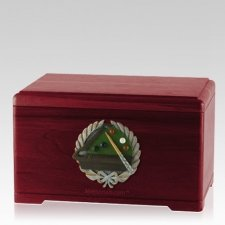 Billiards Rosewood Cremation Urn